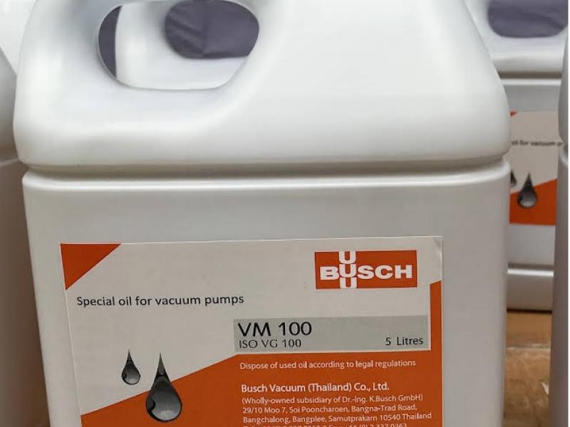 Dầu chân không VM-100 (#Busch) Chính hãng