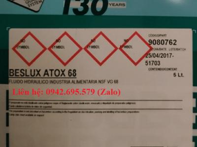 BESLUX ATOX 68 (DẦU THỰC PHẨM)