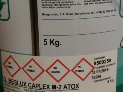 G.Beslux Caplex M-2 Atox (Mỡ thực phẩm)