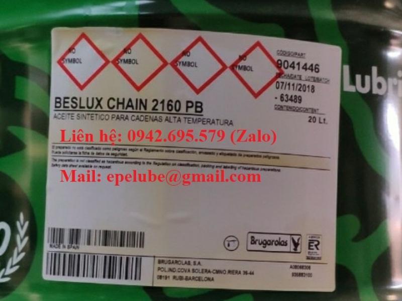 BESLUX CHAIN 2160 PB (Dầu xích chịu nhiệt độ cao)