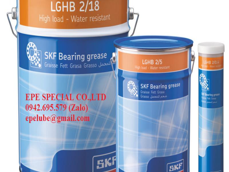 LGHB 2 (LGHB 2/1, LGHB 2/5, LGHB 2/18, LGHB 2/50) - MỠ CHỊU NHIỆT SKF