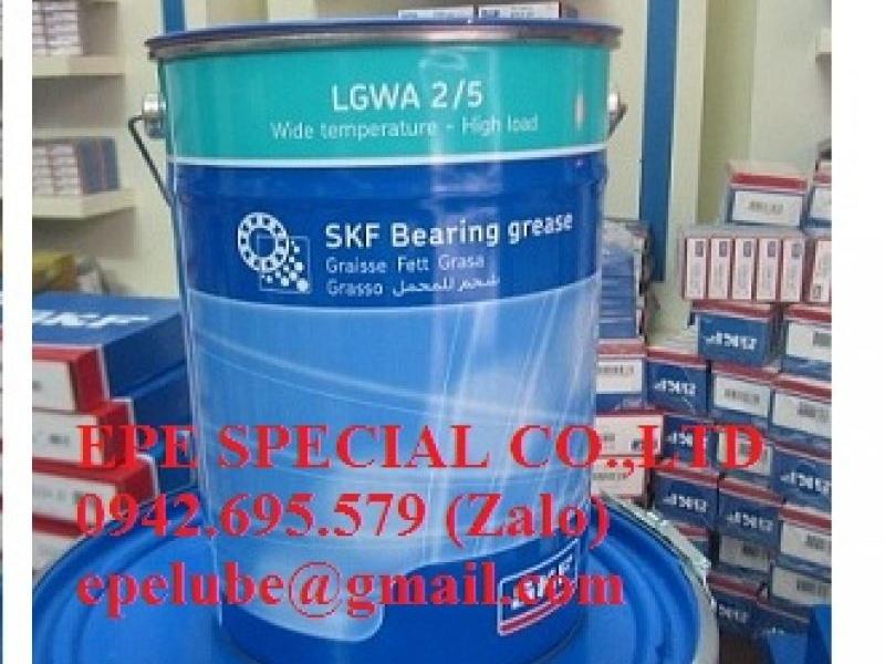 LGWA 2 (LGWA 2/1, LGWA 2/5, LGWA 2/18) - Mỡ SKF chịu nhiệt