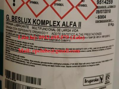 G.BESLUX KOMPLEX ALFA II (Mỡ chịu nhiệt gốc tổng hợp)