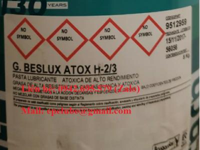 G.BESLUX ATOX H-2/3 (MỠ THỰC PHẨM GỐC TỔNG HỢP)